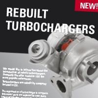 New! Rebuilt turbochargers