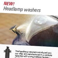 New! Headlamp washers