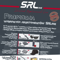 SRLine - promocja: amortyzatorów, filtrów kabinowych, filtrów powietrza, piór wycieraczek i żarówek