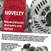 Remanufactured alternators and starters