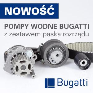 Pompy wody Bugatti z zestawami paska rozrządu
