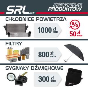 SRLine: chłodnice powietrza, filtry i sygnały dźwiękowe